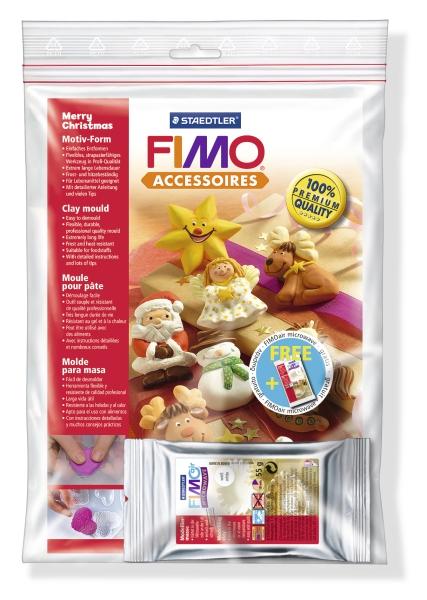 Fimo Formen Fröhliche Weihnachten